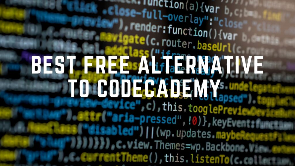 Free Alternative to Codecademy