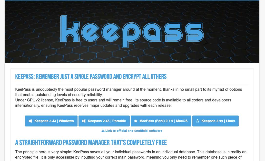 Keepass Alternative